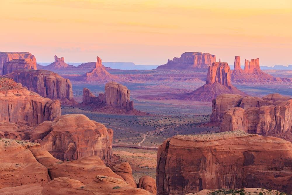 horizonte visto desde o gran canyon - Como visitar o Grand Canyon