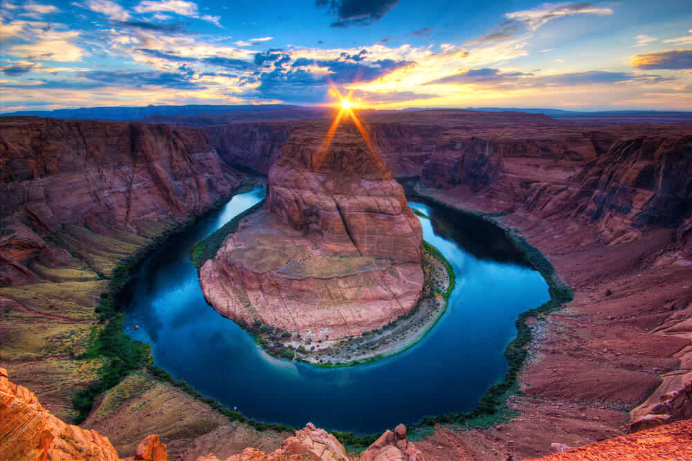 horseshoe bend no grand canyon - Como visitar o Grand Canyon