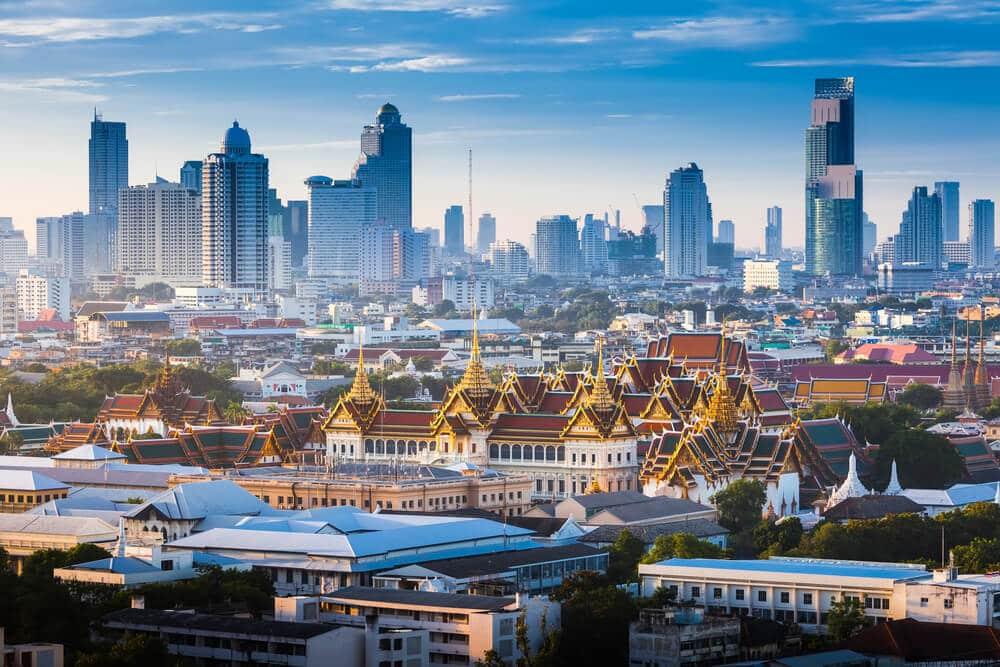 Bangkok na tailandia
