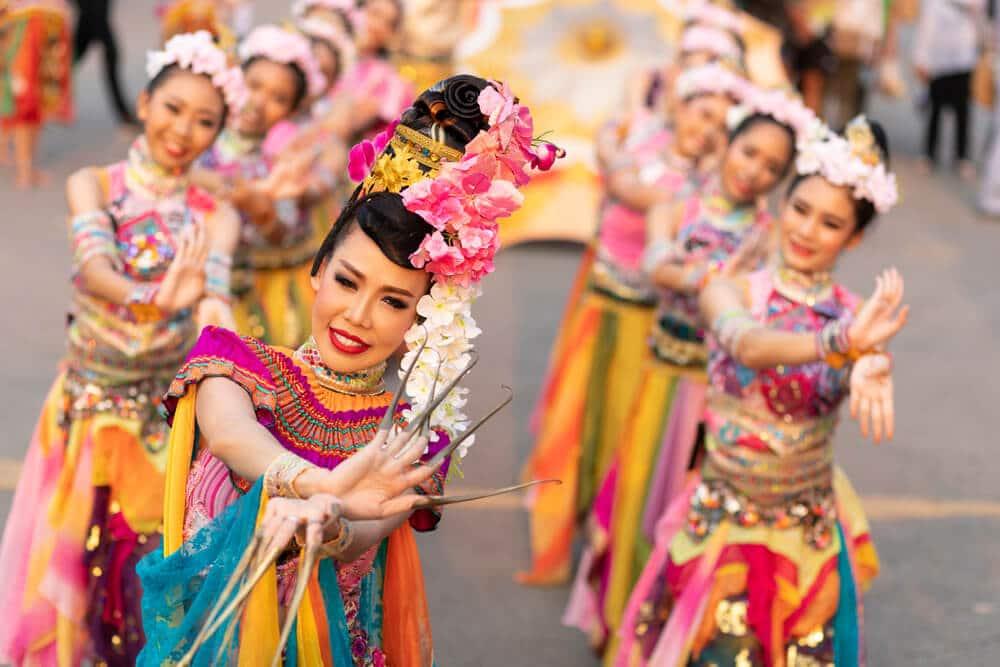 dançarinas na tailandia