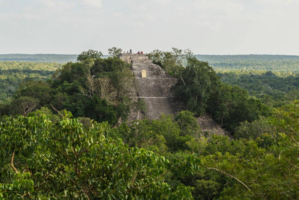 piramide de calakmul