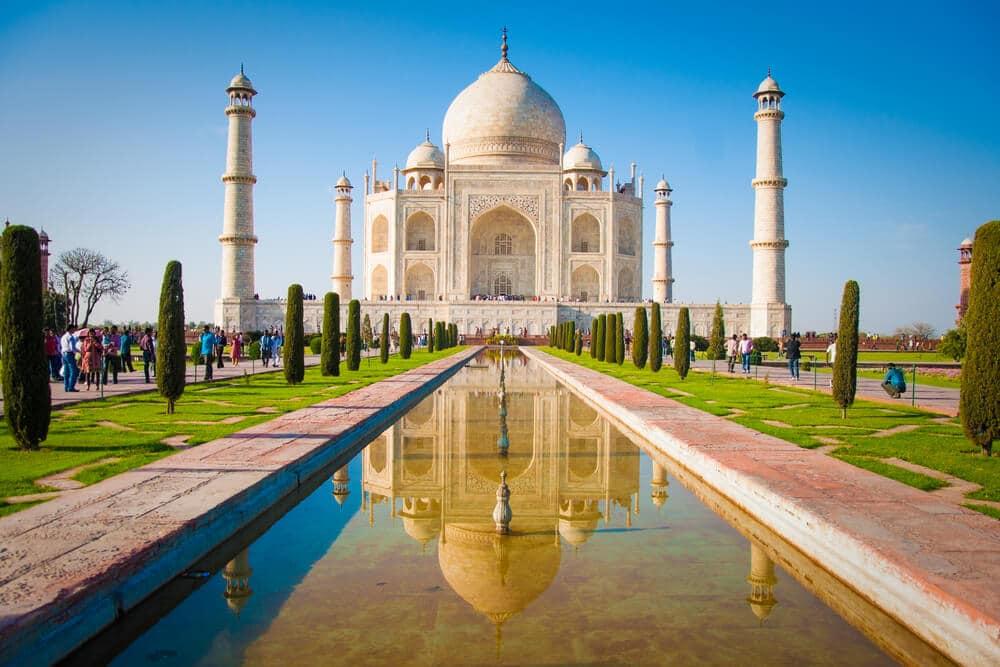 como visitar o taj mahal na india