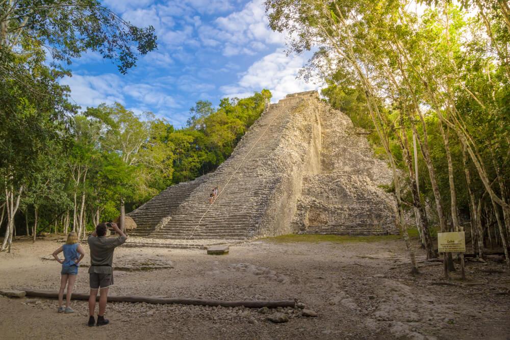 piramide maia nohoch mul