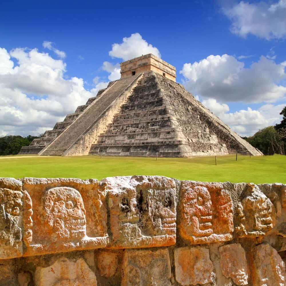 piramide maia kukulcan
