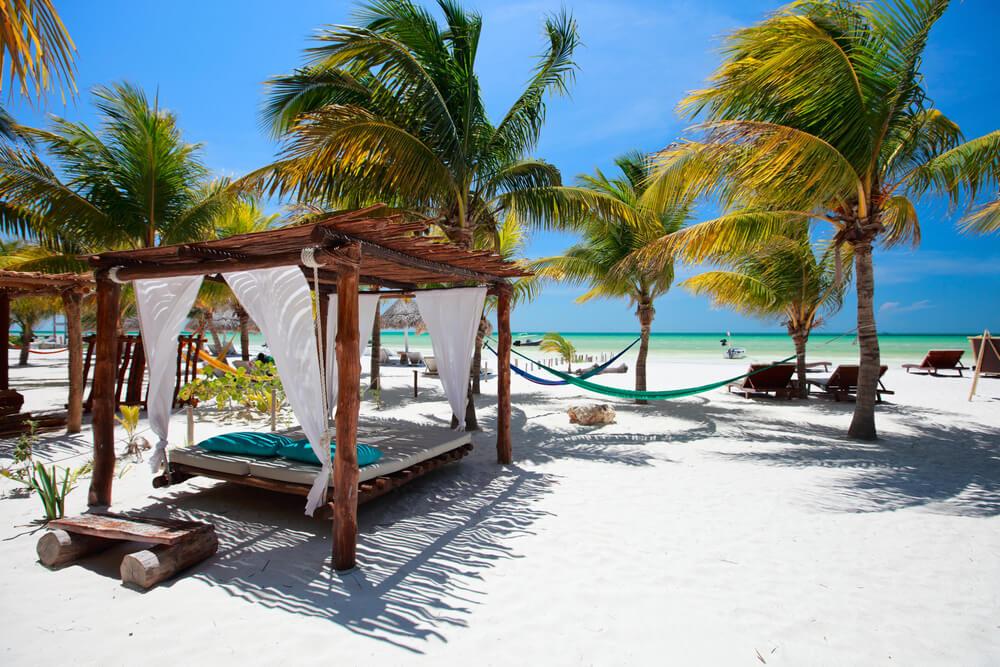 praia mexicana segura