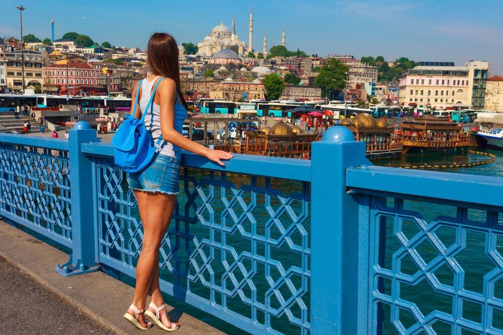ponte galata na turquia