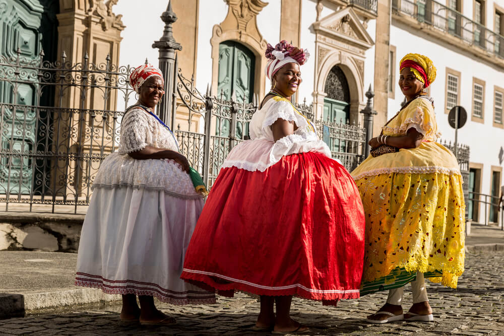 baianas brasileiras