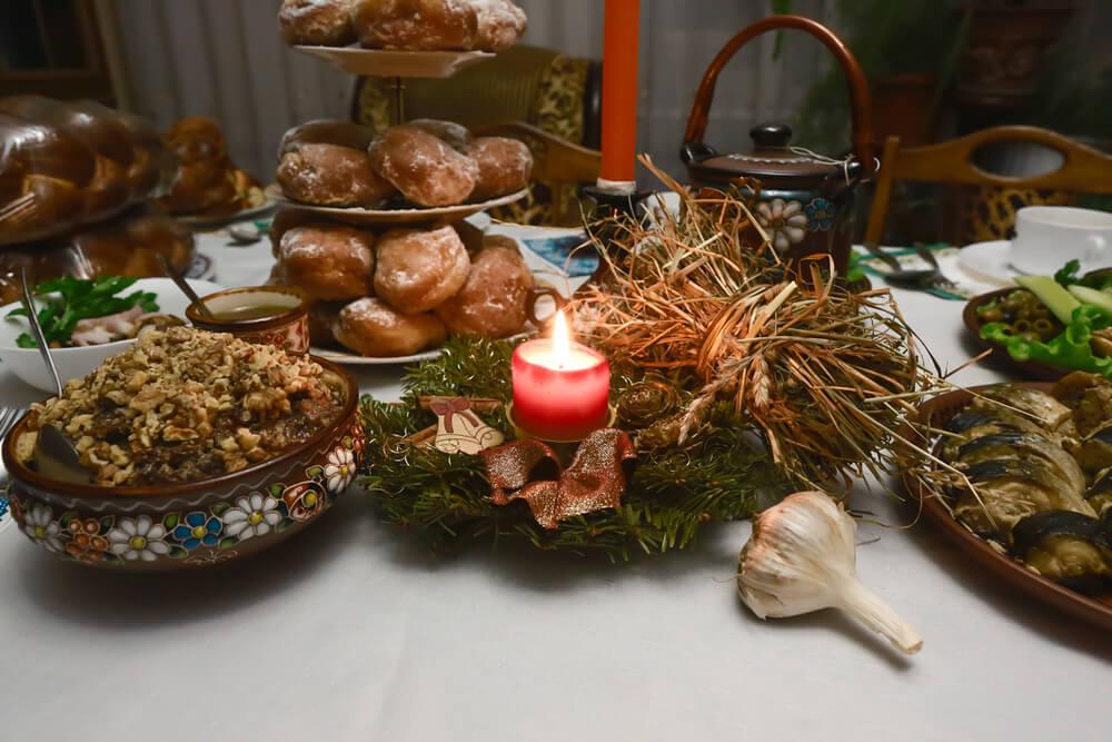 banquete de natal ucrania