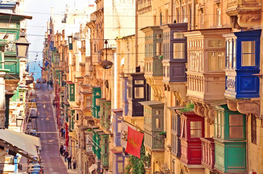 cidade de valletta em malta