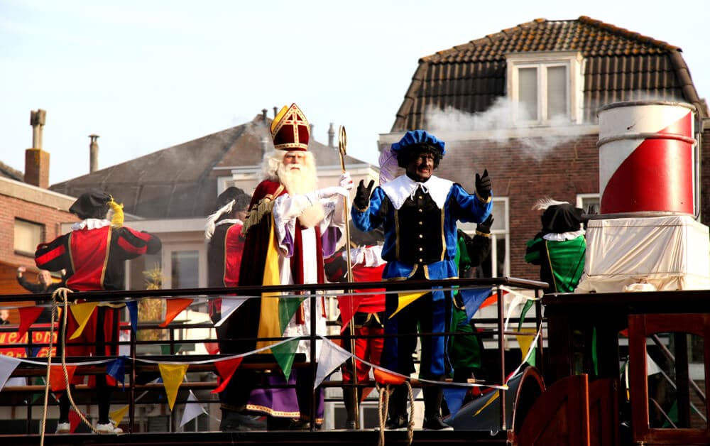 desfile tradicional de natal na holanda