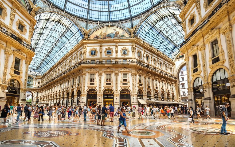 galerias vittorio emanuelle em milao