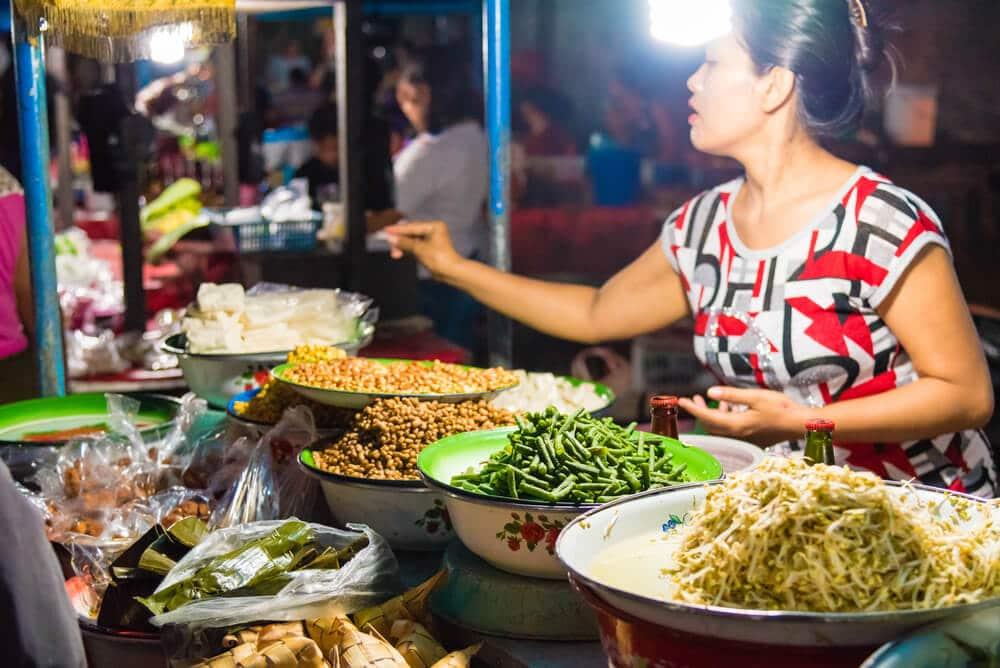 mercado noturno tradicional gianyar