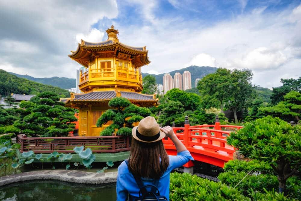 jardim de lan lien em hong kong