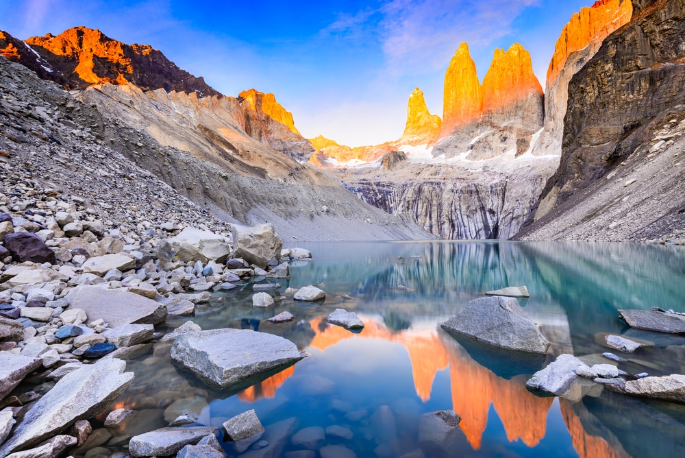 laguna torres na patagonia