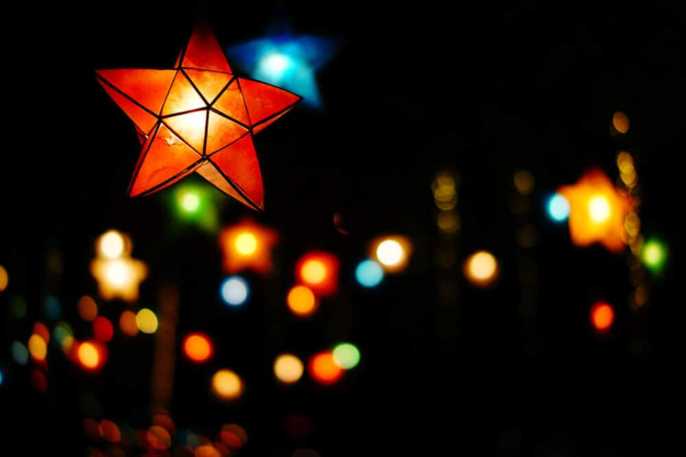lanternas filipinas de natal