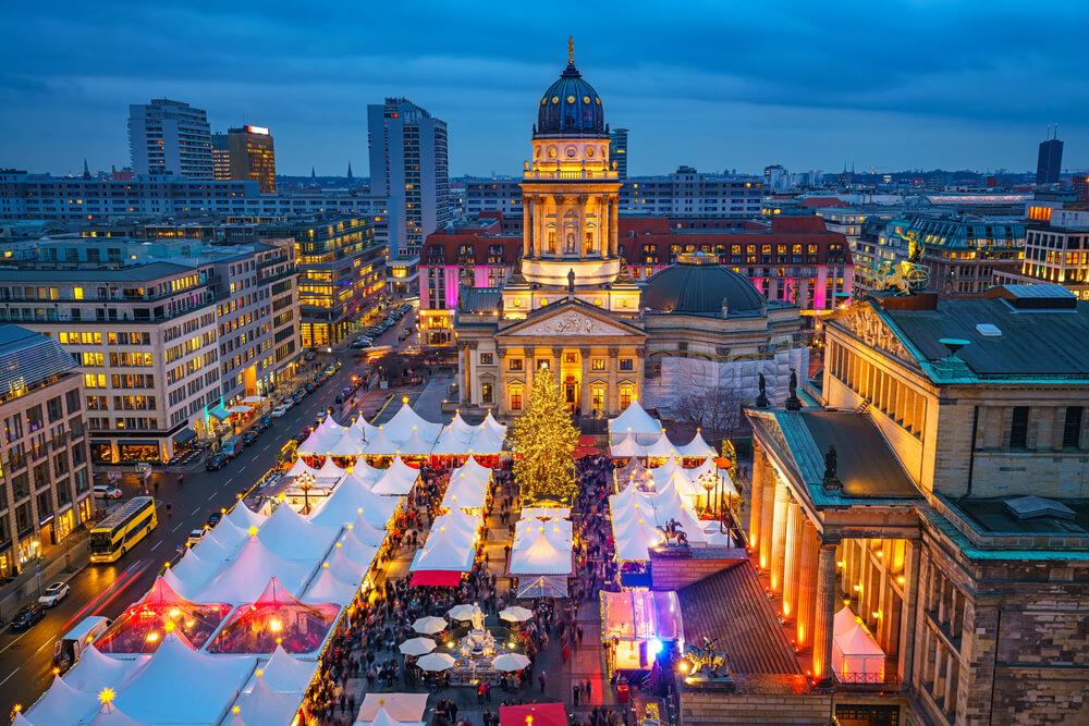 mercado natalicio em berlim