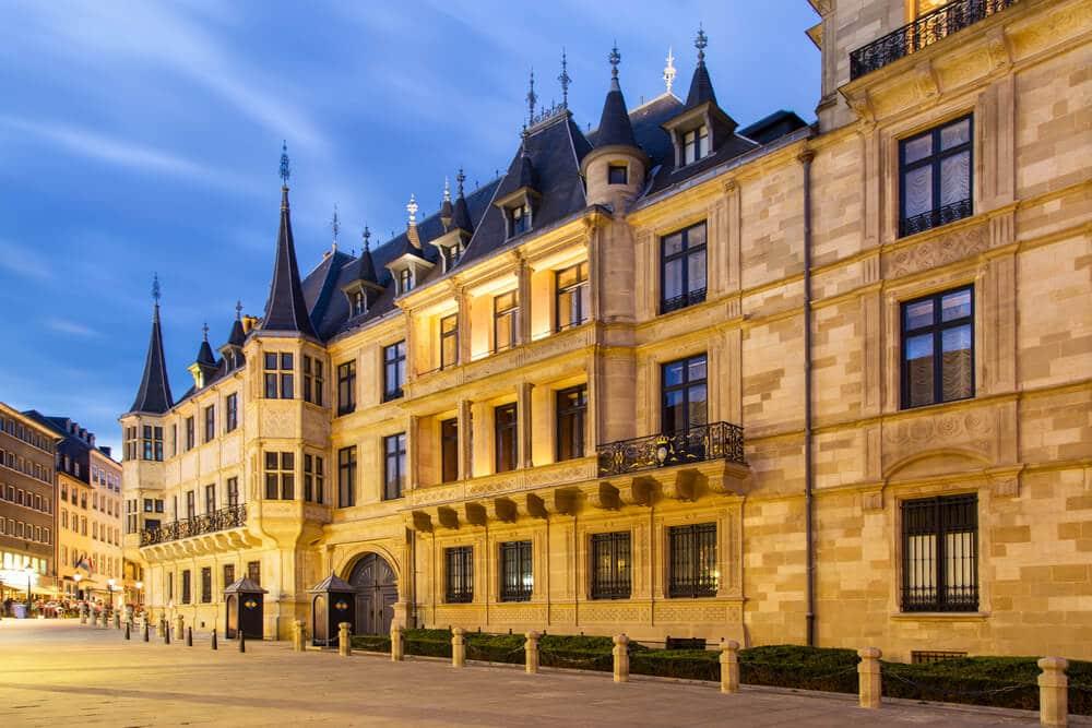 palacio grao ducal do luxemburgo