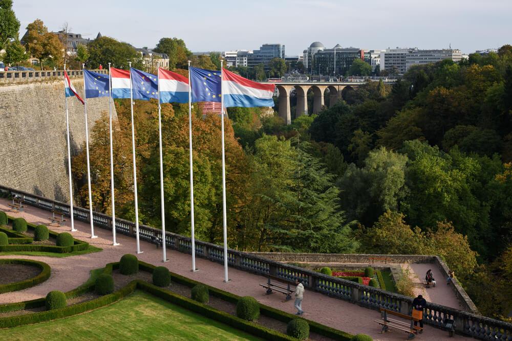 praça da constituiçao no luxemburgo