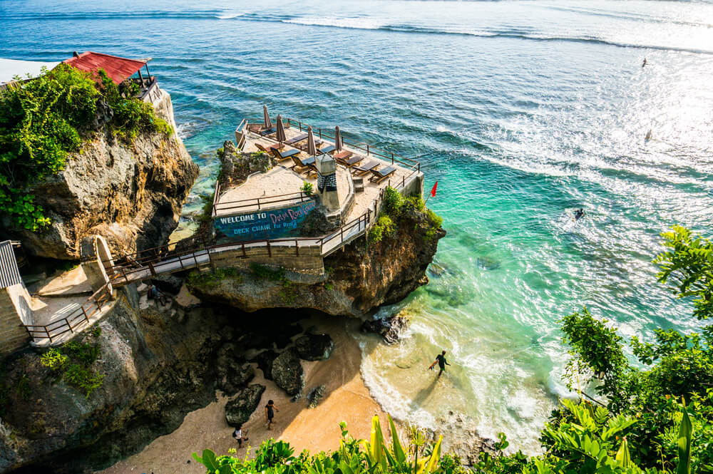 praia de suluban em bali