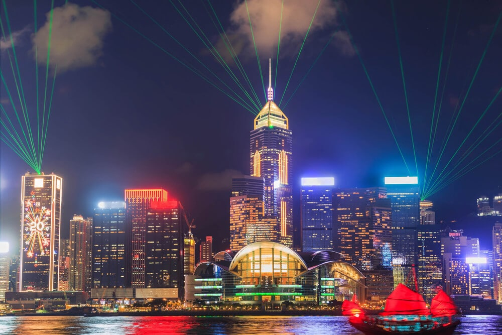espetaculo noturno hong kong