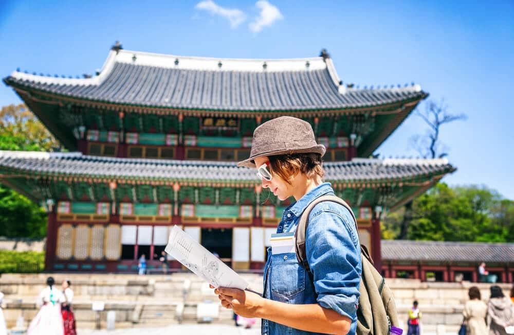 viajar sozinha pela coreia do sul