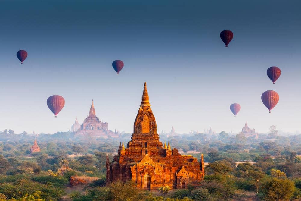 viajar sozinho pelo myanmar