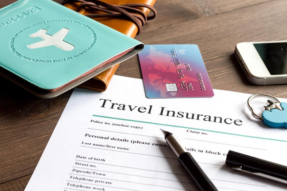 contrato para seguro de viagem