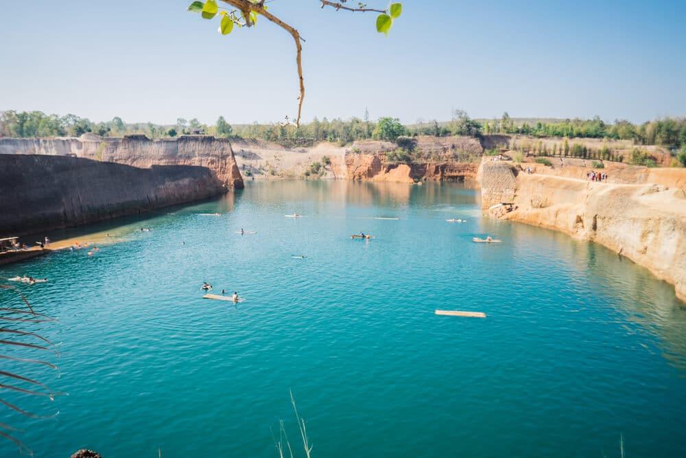 lago do grand canyon em chiang mai