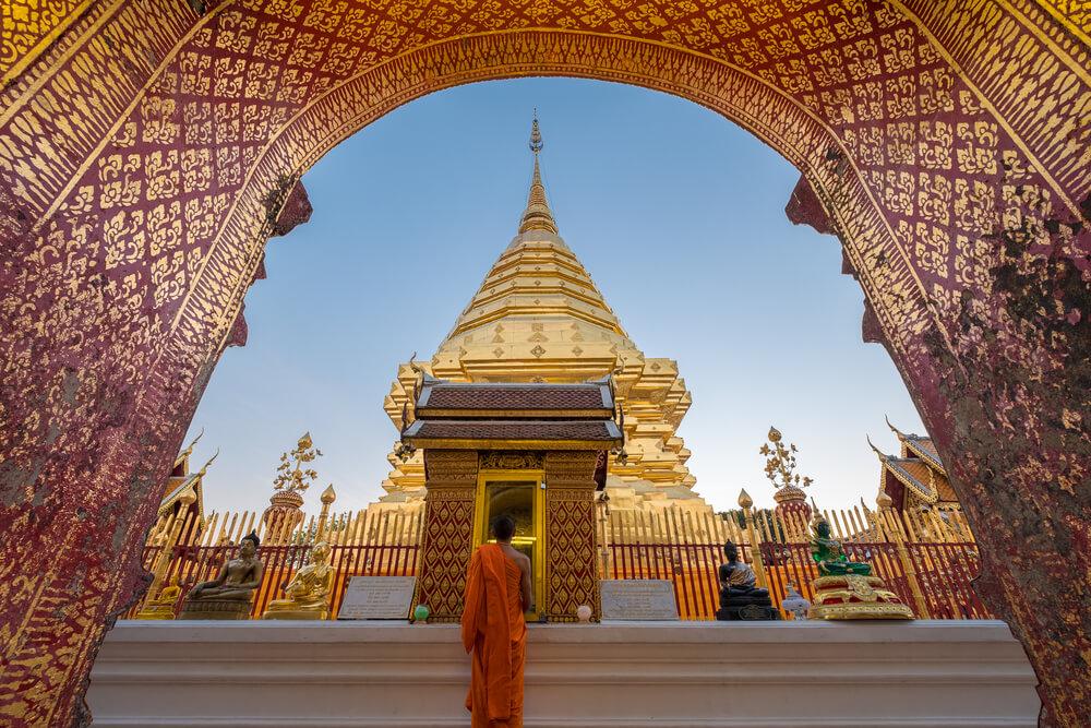 templo de wat phra that no cimo de doi suthep