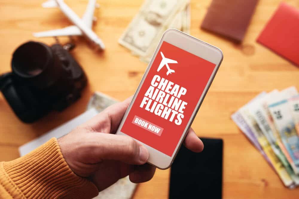 aplicação de telemovel para voos baratos
