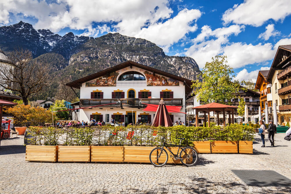 casas tipicas de Oberammergau