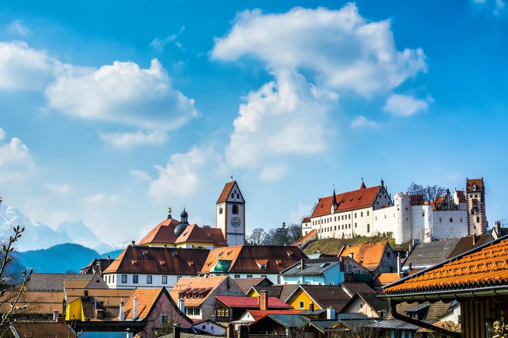 cidade e castelo de fussen