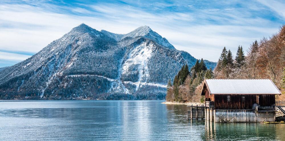 casa no lago walchensee