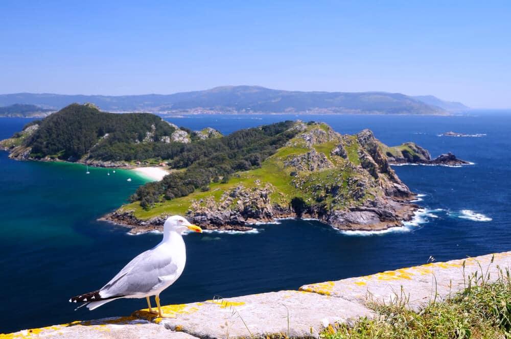 vista panoramica das ilhas cies