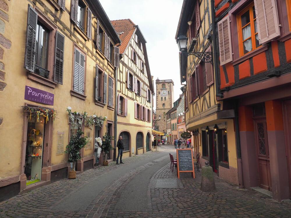 ruas do centro de ribeauville