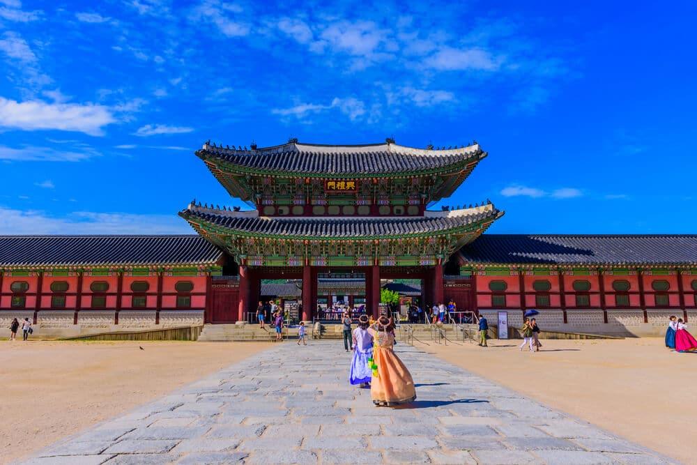 porta principal de palacio gyeongbokgung