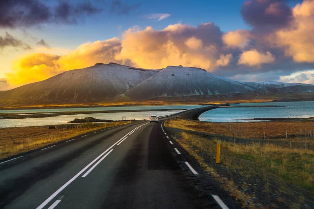 estrada hringvegur na islandia