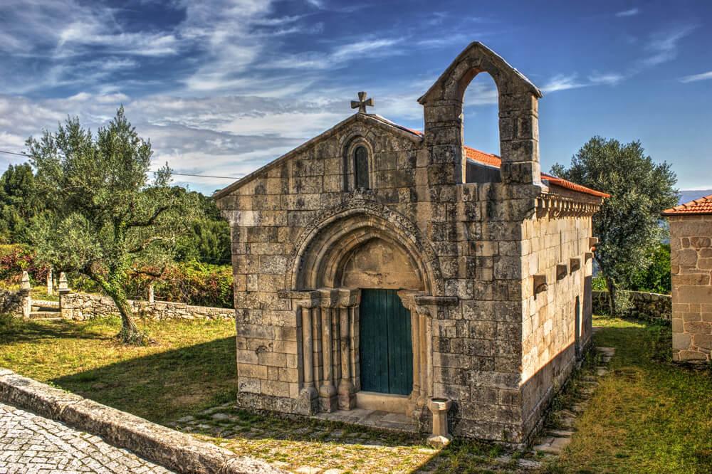 vista aerea da igreja de boelhe