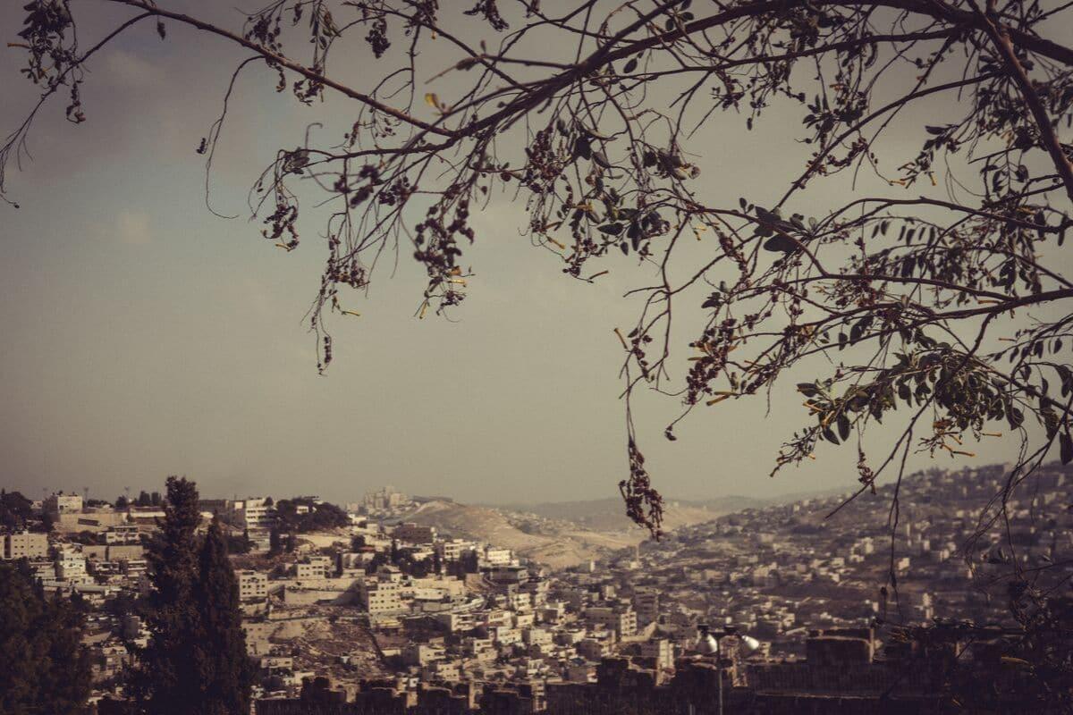 panoramica da cidade de jerusalem