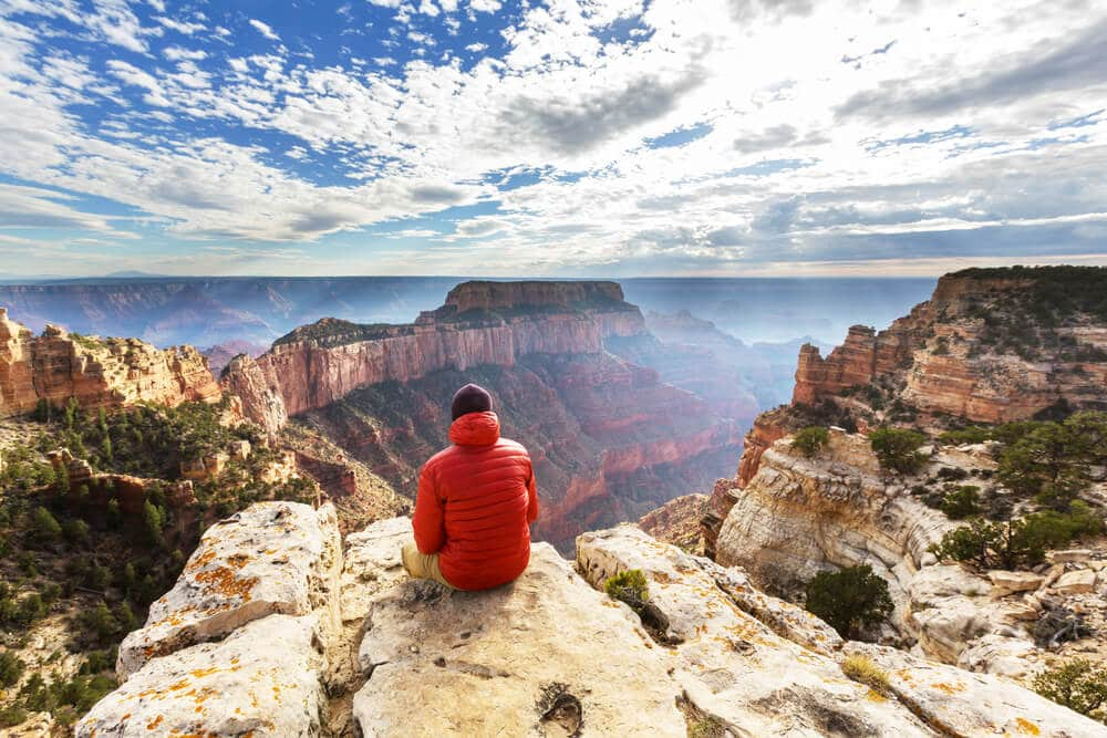 vistas do grand canyon