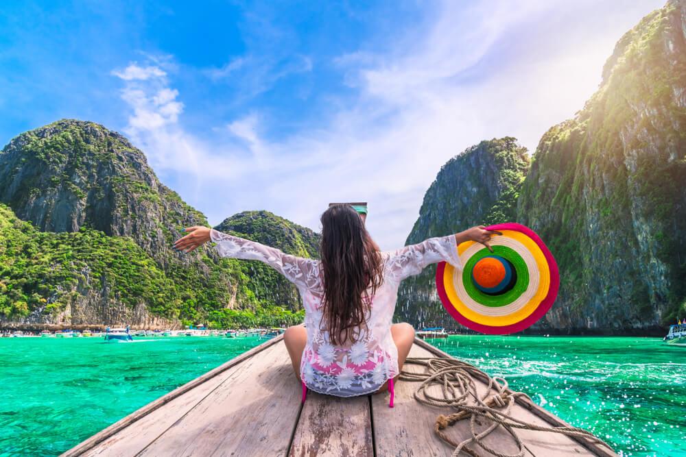 viajar sozinho pela asia