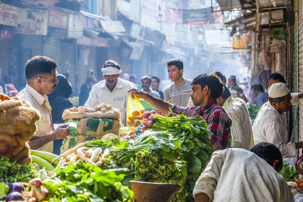 mercado tipico indiano