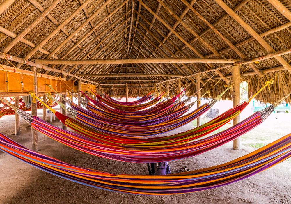 redes para dormir em santa marta