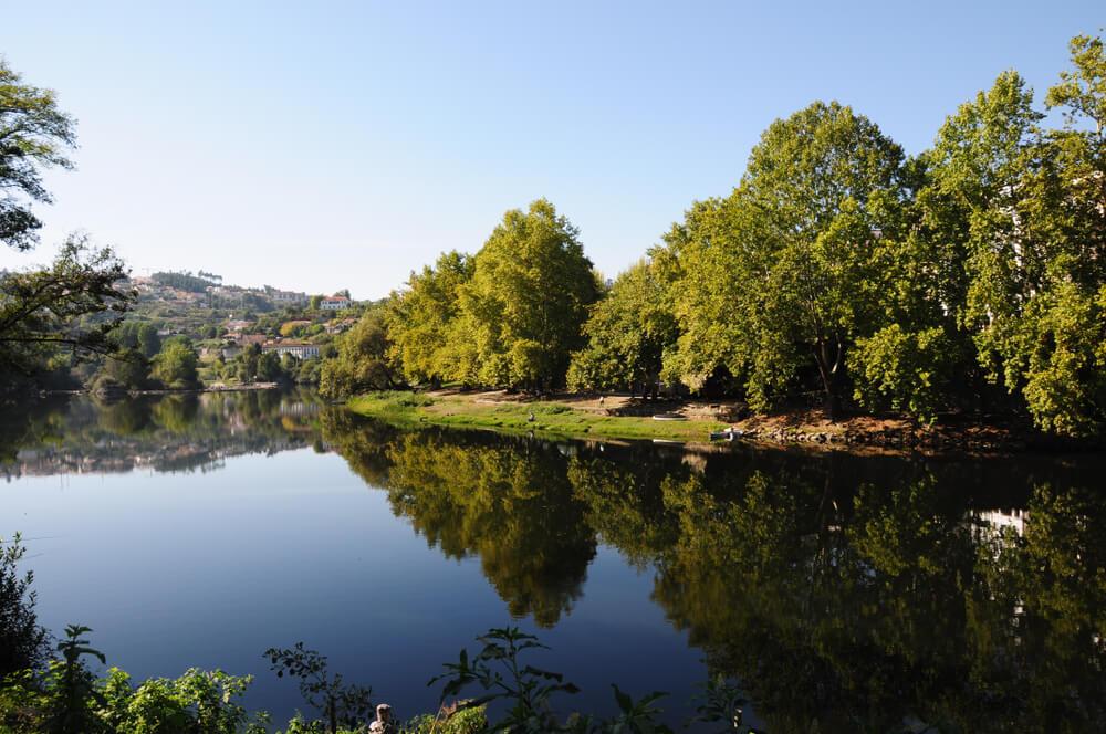 rio tamega à sua passagem por amarante